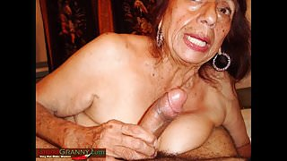Latina GrannY Amateur Oma Foto's Slideshow